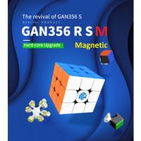 Rubik GAN 356 R S M Magnetic/ GAN 356 R M Original Stickerless 3x3