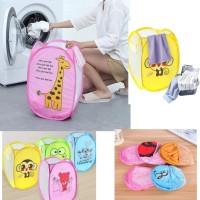 Keranjang baju kotor - Laundry Bag - Keranjang lipat serbaguna