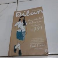 buku novel ori Dilan dia adalah dilanku tahun 1991.Pidi Baiq