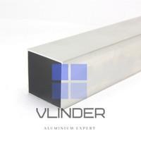 Hollow Aluminium 40 x 40 mm, t. 1.2 mm