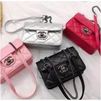 (1kg=6pcs) sbt163 tas cc sling bag cc tas selempang kulit sling bag