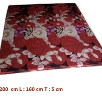 ROYAL FOAM Kasur Busa Royal ukuran 200 x 160 x 5 cn