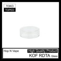 BEST PRODUK HOP N VAPE KOF RDTA REPLACEMENT GLASS | KACA PENGGANTI
