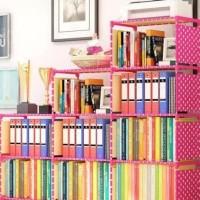Fs Rak Portable Rak Buku Rak Multifungsi Tempat Buku Majalah Rak Susun
