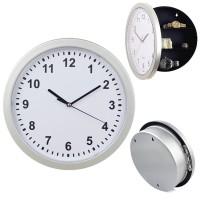 Money Cash Box Safe Hidden Wall Clock Secret Jewelry Security