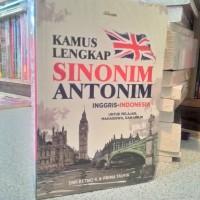 """Ada Kamus Lengkap Sinonim Antonim Inggris-Indonesia"""""""