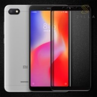 Zilla Tempered Glass Curved Edge 9H 0.26mm for Xiaomi Redmi 6 - Black