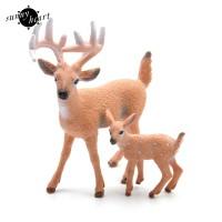 Boneka Pajangan Model Rusa Natal untuk Dekorasi