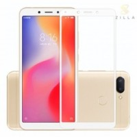 Zilla Tempered Glass Curved Edge 0.26mm Xiaomi Redmi 6 Pro - White