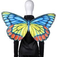 Kostum Cosplay Halloween Bentuk Sayap Kupu kupu untuk Pria Wanita
