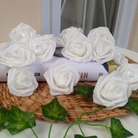 Bunga Mawar Spon Foam Artificial Dekorasi Foto Hantaran Scrapbook Hias