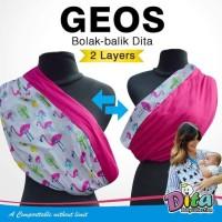 Dita Baby Geos Gendongan Koas Simple Bolak Balik Motif
