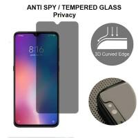 Anti SPY Xiaomi Redmi Note 4 4X - Tempered Glass Anti Gores Kaca Hitam