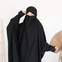 jilbab franch hijab lengan/jumbo/niqob