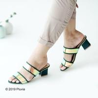 Pluvia - IRISH Sepatu Block Heels Chunky Wanita