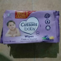 Cussons Baby Tissue Basah isi 50sheets