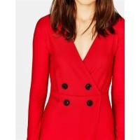 Red Playsuit Wanita   Baju Valentine Wanita 97212