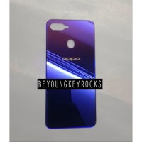 Backdoor Tutup Belakang Baterai Oppo F9 F9 Pro Starry Purple Ungu