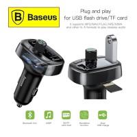 BASEUS Car Charger Bluetooth S 09 Type Dual USB FM Transmitter MP3