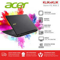Laptop ACER Aspire 3 A311-31 DC N4000 4GB RAM 500GB Win10 Black
