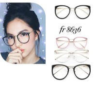 frame kacamata wanita gratis lensa minus, plus dan cylinder