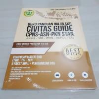 CIVITAS Guide SKD CPNS Buku Materi Soal PKN STAN, STIS, IPDN, AKPOL