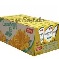 yeos teh kembang kotak chrysantemum 250ml x 24 kotak