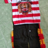 baju karnaval anak reog ponorogo