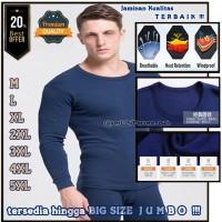 Long John Pria Import Versi Tebal /pakaian Longjohn Long Jhon Big Size