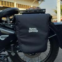 . Side bag tas samping modif untuk royal enfield classic