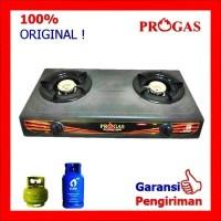 Kompor Gas 2 Tungku Teflon PROGAS PG 169