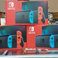 New Nintendo switch v2 Console Neon HAC-001(-01)