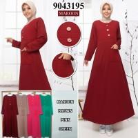 Gamis Paragon Kombinasi Babat Wanita Fashion MusLim...