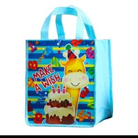 Tas godiebag tas ulang tahun 26 22 20 jerapah