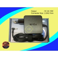 Adaptor NBEX 5V 3A 2.5X0.7mm For Acer One S1002 Advan Vandroid ORI