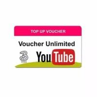 Voucher Three Unlimited Youtube 7 Hari