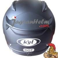 Kyt Helm Rc Seven / Rc7 / Rcseven / Rc-Seven Black Doff Promo