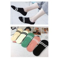 KK31 Kaos Kaki Pendek Wanita Japanese Two line Women Low Socks