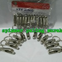 Gantungan Kunci Carbiner / Gantungan Kunci Karbiner Stainless Steel