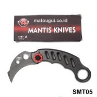 Pisau Lipat Mantis MK-2 Karambit Folding Knife SMT05