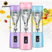Juice Cup Blender mini portable - Shake N Take Blender Mini Portable - 4 mata pisau
