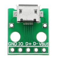 LAKU BANGET Micro USB To Dip Female Socket B Type Microphone 5P