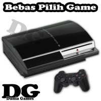 PROMO PS3 FAT HARDISK 80GB FULL GAME