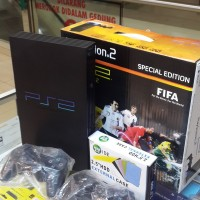 PROMO Playstation Ps2 Sony Fat 40gb Fullgame siap pake