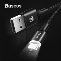 Baseus USB Type C Cable USB C for Samsung S9 S10 LED Lighting Type C