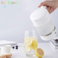 bou*✉Electric Kettle Mini Folding Portable Travel Kettle Silicone