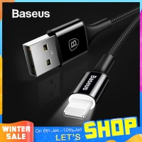 Baseus LED lighting Charger Cable For iPhone X 8 7 USB Cable For