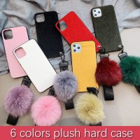 Plush Hard Case Untuk OPPO F11 Pro F9 F1s A57 A39 F7 F5 Fashion Full