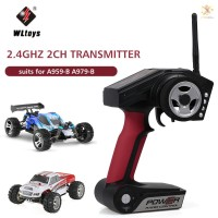 E&T Wltoys Power Radio Control 2.4GHz 2CH Transmitter for A959-B