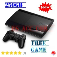 PROMO Playstation Ps3 Super Slim Hdd 250 Gb Free Game